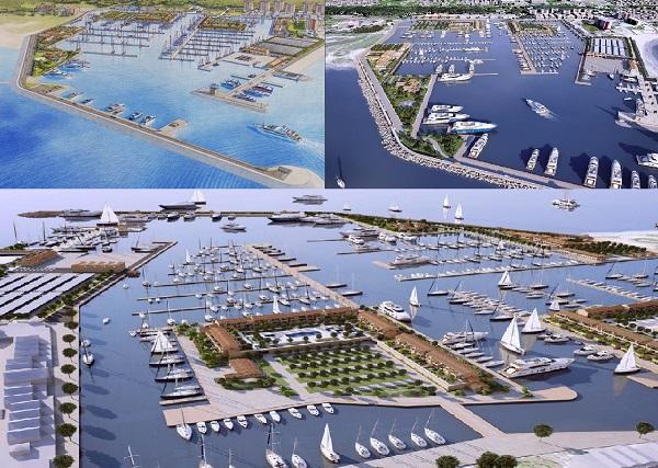 Porto Marina di PInetamare Render