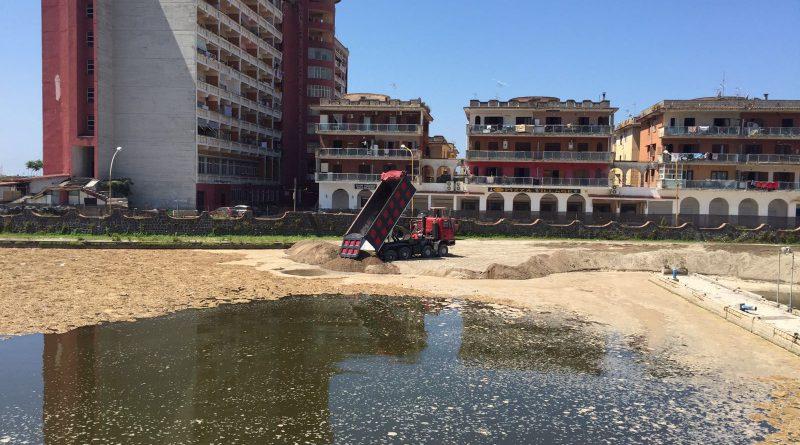 Riprendono i lavori a Marina di Pinetamare