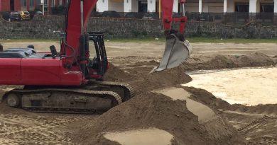La seconda banchina della Darsena a Pinetamare è completata