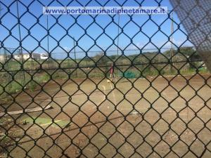 Pinetamare, seconda riqualificazione nell'area dei campetti di Garics